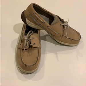 Sperry topsider boat shoes EUC